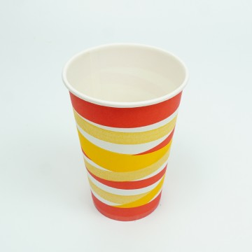 12 OZ Colored Paper Cups
