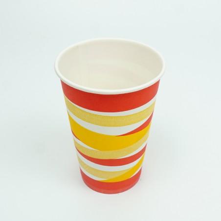 12 OZ Colored Paper Cups