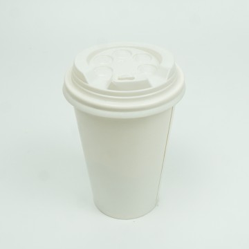 14 OZ Paper Cups with Lids