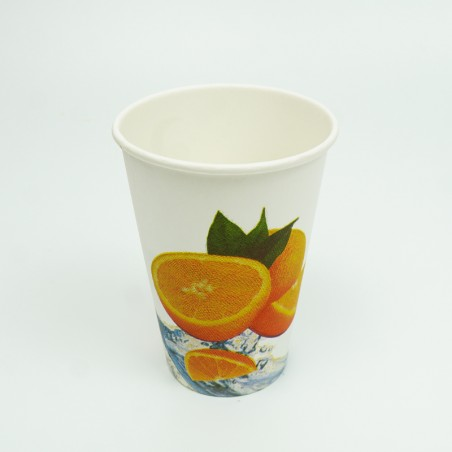 12 OZ Decorated Paper Cups