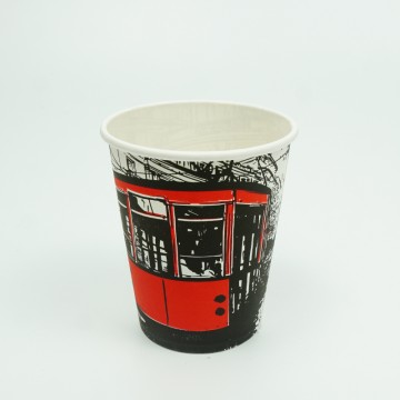 7 OZ Patterned Paper Cups